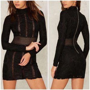 Rare London Axel Bodycon Dress